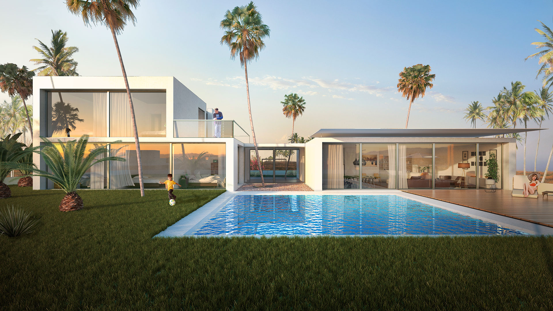Villa Taghazout Visualization