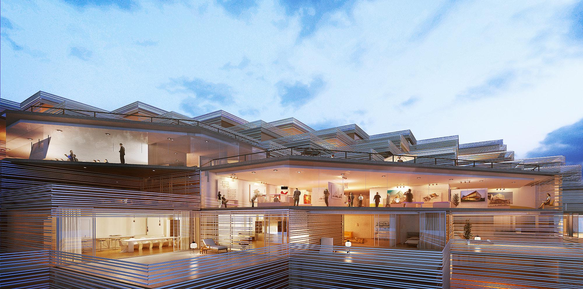 maison de larchitecture 3d