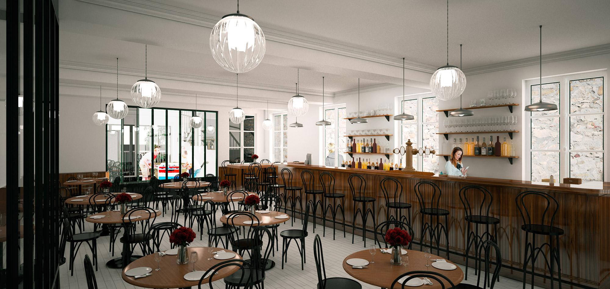 Restaurant interior Hotel