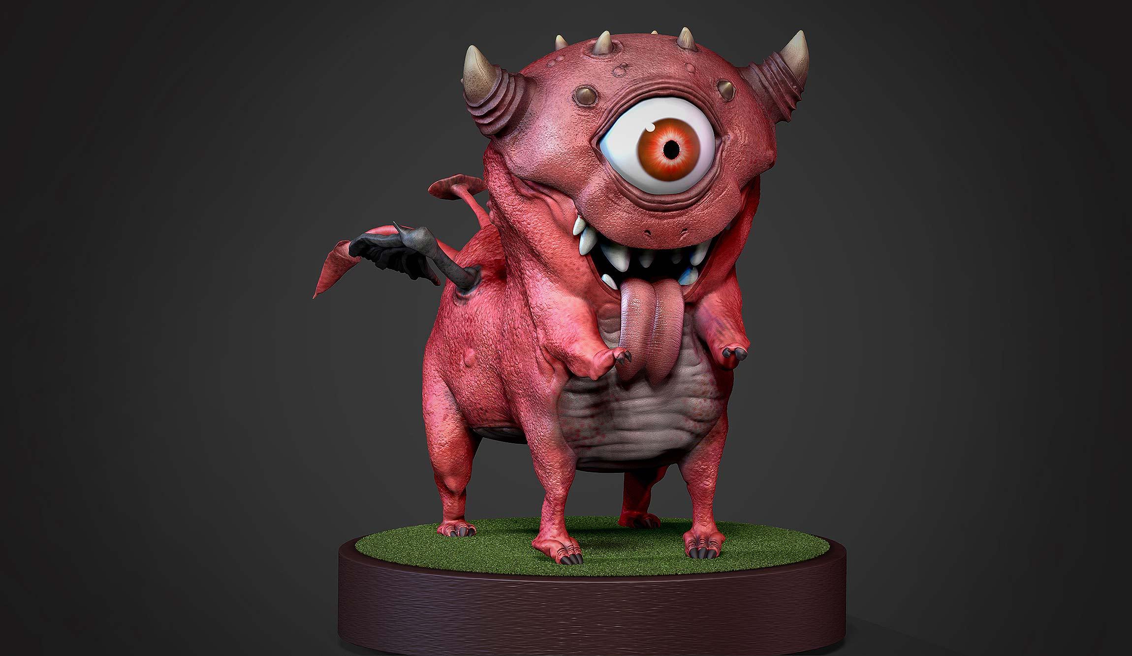 3d character devil